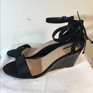 8f9c907cfdeb Torrid Shoes - Faux Suede Ankle Strap Mini Wedges (Wide Width)